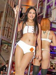 Thai, Bar, Asian ass