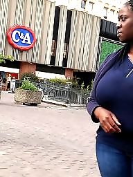 Candid, Small, African, Huge, Huge boobs, A bra
