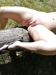 Amateur wife, Outside