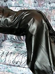 Latex, Leather, Boots, Pvc, Mature boots, Mature latex