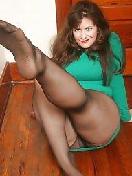 Stockings, Nylons, Bbw stockings, Tease, Bbw nylon, Teasing