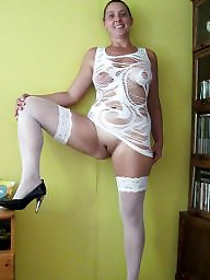 Stocking, Mature stocking, Beautiful mature, Mature beauty