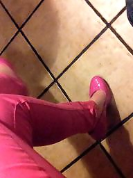 Shoes, Pants, Wife, Heels, Shoe, Pink