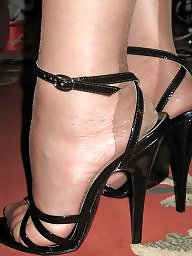Nylon, Nylon feet, Nylons, Mature stockings