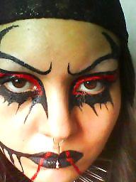 Kinky, Makeup, Femdom bdsm