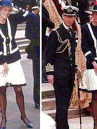 Skirt, White, White and black