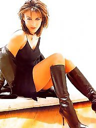 Boots, Pvc, Latex, Leather, Mature latex, Mature boots