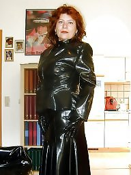 Latex, Rubber, Mature porn, Mature latex