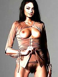 Big nipples, Hard, Hard nipple, Hairy women, Women