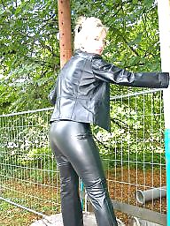 Mature, Latex, Leather, Mature leather