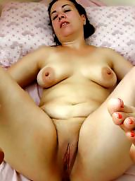 Mom, Milf, Mature, Bbw, Spreading, Fat