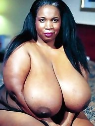 Ebony, Ebony bbw, Huge boobs, Breast, Huge boob, Ebony boobs