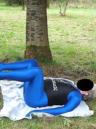 Spandex, Mature outdoor, Public matures, Outdoor mature, Mature outdoors, Mature public