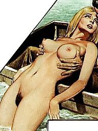 Boat, Blonde, Blond, Comix