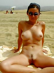 Beach, Public tits, The public