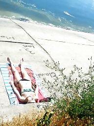Spy, Romanian, Cam, Voyeur beach, Beach voyeur