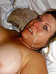 Mom, Facial, Mature bbw, Sexy mom, Mature facial, Bbw mom