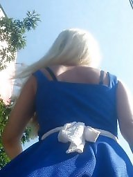 Upskirt, Hidden, Girl, Spy, Upskirts, Blonde