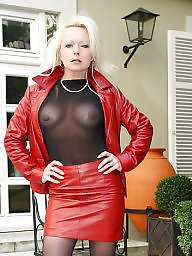 Leather, Ladies, Skirt