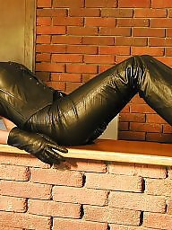 Latex, Boots, Leather, Pvc, Mature boots, Mature leather