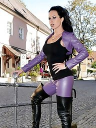 Boots, Latex, Pvc, Leather, Mature pvc, Mature boots