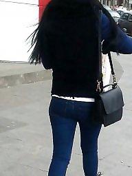 Teen, Hidden, Teen ass, Jeans, Spy, Romanian