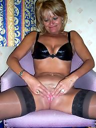 Mom, Mature stockings, Nylon, Mature nylon, Nylon mom, Mom nylon