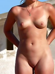 Pussy, Shaved, Shaving, Small, Nipple
