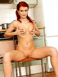 Redhead, Red, Beauty, Beautiful, Barely