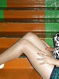 Upskirt, Nylon, Nylons, Skirt, Upskirts, Skirts