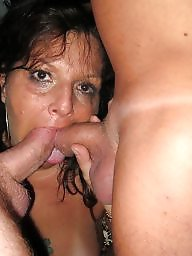 Milf facial, Amateur facial