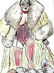 Fur, Fetish, Cartoons, Femdom cartoon, Cartoon femdom