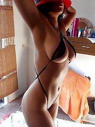 Bikini, Voyeur, Wife, Amateur milf, Micro bikini, Wifes