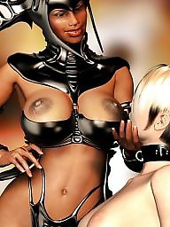 Bondage, Cartoon, Slave, Slaves, Bdsm cartoon, Femdom cartoon