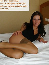 Cuckold, Femdom, Cuckold captions, French, Cuckold caption, French caption