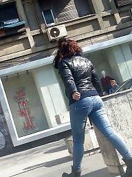 Jeans, Teen ass, Spy, Hidden cam, Voyeur teen, Teen voyeur