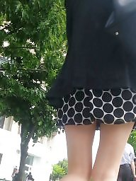 Skirt, Mini skirt, Hidden, Romanian, Spy cam, Spy