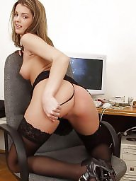 Upskirt, Young, Office, Lady, Upskirts, Cute