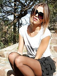Teen girls, Teen stockings, Teen nylon