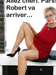 Cuckold, Captions, French, French caption, Cuckold caption, Big mature