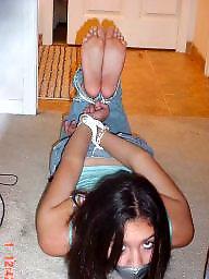 Bondage, Amateur bondage, Teen bdsm