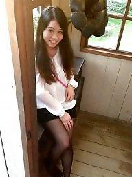 Asian slut, Asian stockings