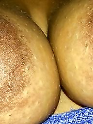 Ebony bbw, Big nipples, Areola, Big ebony