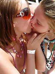 Kiss, Girl, Lesbian teen, Kissing, Girls kissing