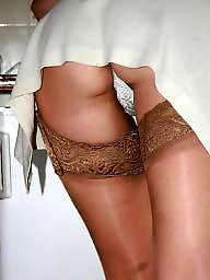 Shower, Stockings mature, Uk mature, Mature uk