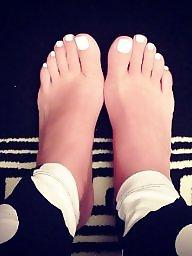Feet, Teen feet, Female