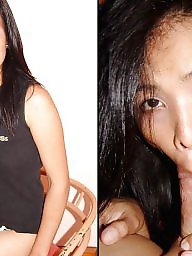 Blowjob, Hardcore, Before and after, Before