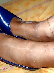 Creampies, Amateur stockings, Creampie amateur