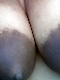 Ebony bbw, Big nipples, Areola, Bbw black