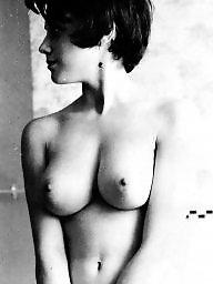 Satin, Magazine, Vintage tits, Magazines
